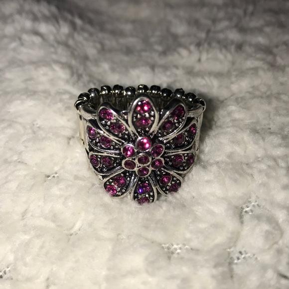 Jewelry paparazzi pink flower ring poshmark paparazzi pink flower ring mightylinksfo